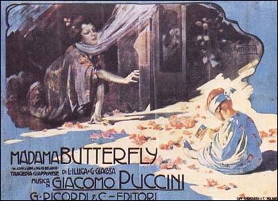 """De quel pays Giacomo Puccini s'est-il inspiré pour composer l'opéra """"Madame Butterfly"""" ?"""
