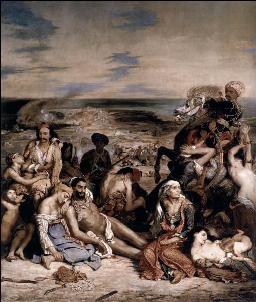 Grâce à quoi l'opinion publique va-t-elle commencer à avoir de l'affection pour la Grèce au XIXe siècle ?