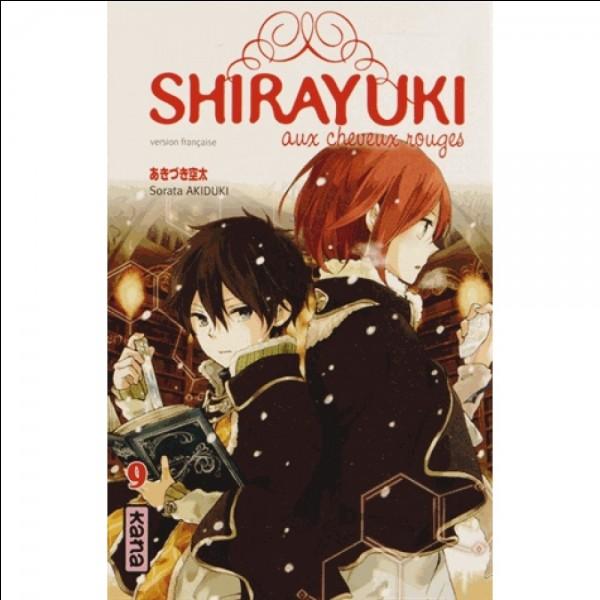 Dans le tome 9, dans quel endroit se rendent Shirayuki et Ryû pour guérir une étrange maladie ?