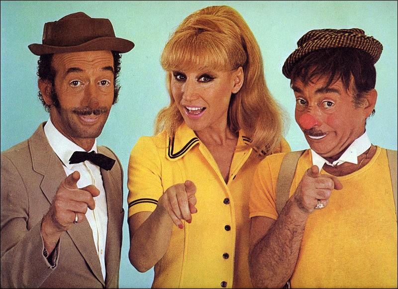 Ce trio drôlissime a enchanté la télévision française durant des années. Quel est ce trio de clowns ?