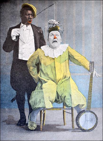 Ce clown en habit, cubain d'origine, a connu son heure de gloire au début du siècle dernier, accompagné du clown blanc Footitt. Omar Sy l'a interprété au cinéma. Quel est son nom de scène ?