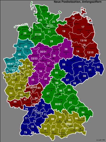Combien l'Allemagne possède-t-elle de Bundesländer ? (Régions)