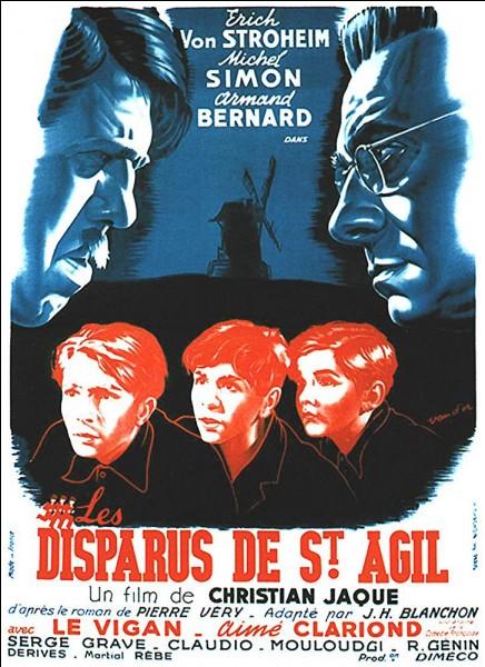 """Les jeunes héros du film """"Les Disparus de Saint-Agil"""", film dont l'adaptation et les dialogues sont de Jacques Prévert, veulent quitter leur école pour quel endroit... ?"""
