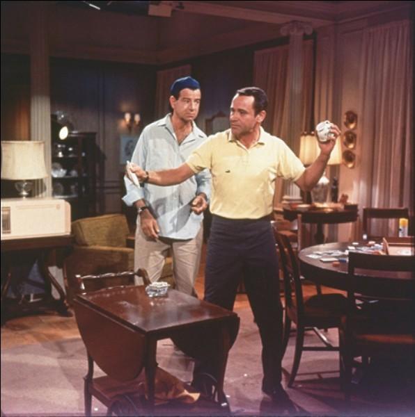 """Dans la comédie """"Drôle de couple"""", Walter Matthau accueille dans son appartement Jack Lemmon que sa femme vient de quitter. Des deux compères, lequel est le maniaque du ménage ?"""