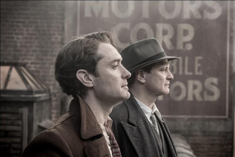 """De quoi parle le film """"Genius"""" sorti en 2016, avec Jude Law et Colin Firth ?"""