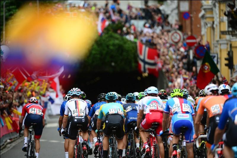 Continuons notre semaine autrichienne avec la course en ligne qui était très attendue par tous les suiveurs de cyclisme. Quel coureur est devenu champion du monde de cyclisme après avoir dompté ce parcours très difficile ?
