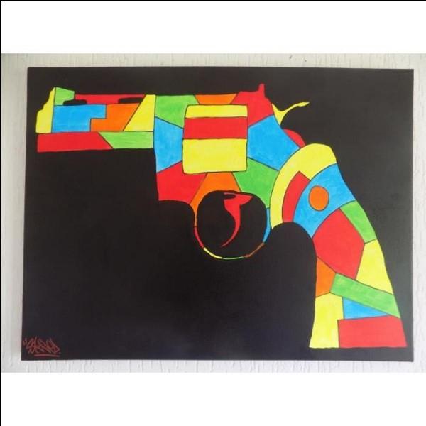 Quel peintre avait régulièrement des ennuis avec la police parce qu'il se battait dans la rue et portait un pistolet sans permis ?