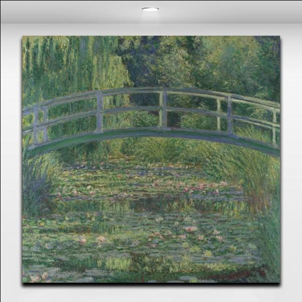 Quel est le nom du village dans lequel Claude Monet a loué, puis acheté une grande maison ?