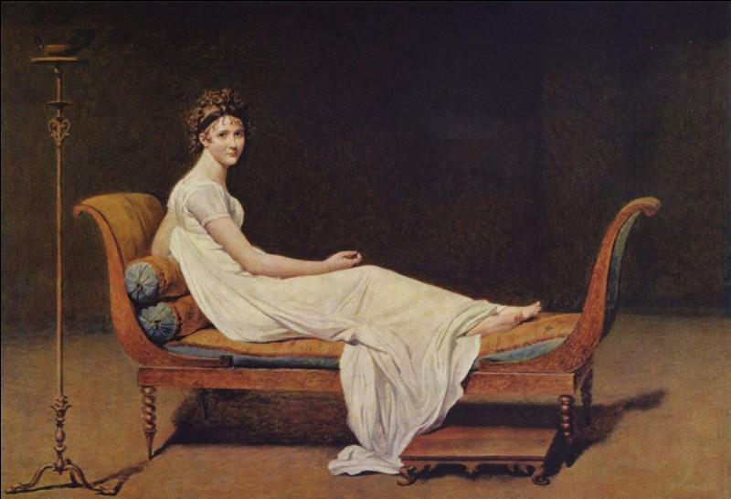 Quel peintre domina l'esthétique néoclassique ?
