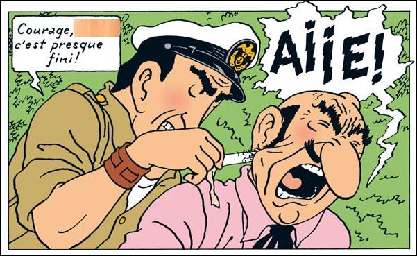 J'ai retrouvé le morceau de sparadrap... juste à temps pour vous demander le nom de ce personnage et quel surnom donne-t-il à l'ignoble Rastapopoulos ?