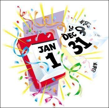 C'est bientôt le jour de l'An, mais tu n'as rien préparé. Que fais-tu ?