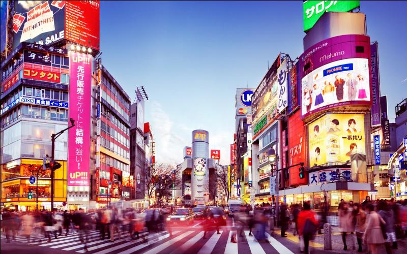 Quelle est approximativement la population de Tokyo ? ... d'habitants