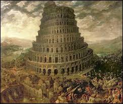 Où se trouve la tour de Babel ?