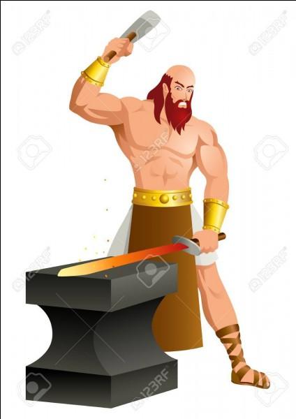 Comment s'appelle le dieu de la forge et de feu ?