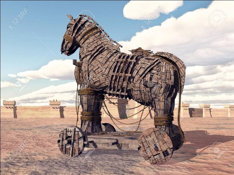 Qui a créé le cheval de Troie ?