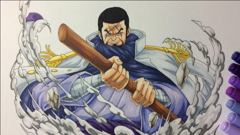 Le tigre violet est le surnom de l'amiral Fujitora.