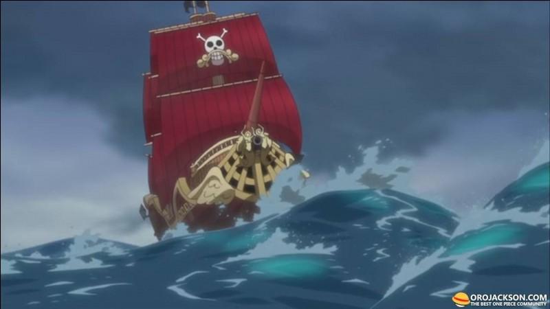 L'Heureux Jackson était le navire respecté de Gold-D Roger.