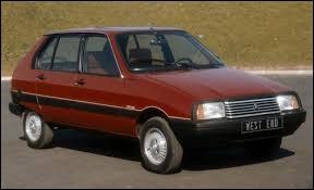 Durant quelle décennie est sortie la Citroën Visa ?
