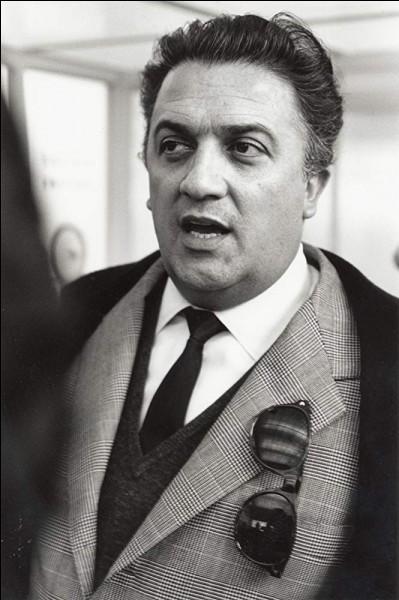 """C'est Fellini a réalisé le film """"Huit et demi"""", dans lequel on peut admirer Anouk Aimée et Claudia Cardinale..."""