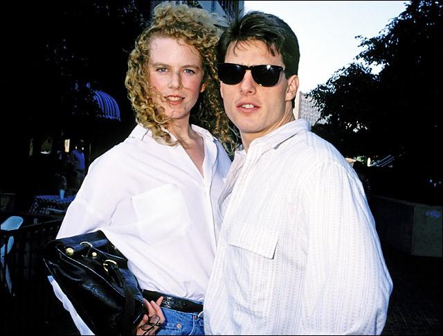"""""""Horizons lointains"""" est un film avec le couple d'alors Nicole Kidman et Tom Cruise..."""