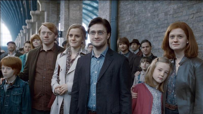 Harry Potter A 3 enfants, comment s'appellent-ils ?