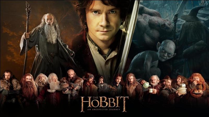 """""""Le Hobbit"""" est une série de films tirée d'un roman de J.R.R. Tolkien."""