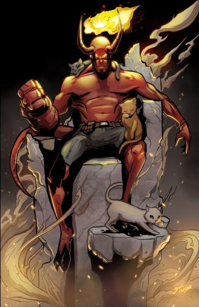 """""""Hellboy"""" est un film réalisé par Guillermo del Toro."""