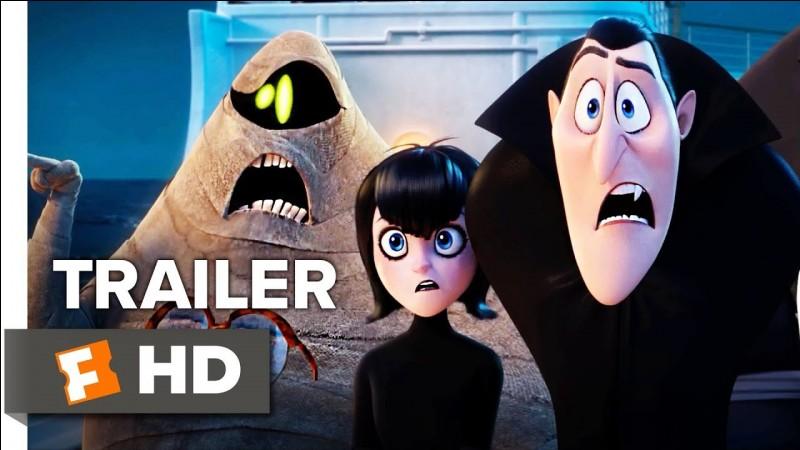 """""""Hôtel Transylvanie"""" est un film d'animation peuplé de monstres."""
