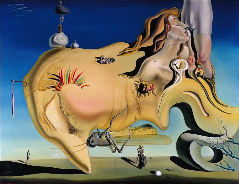 Et pour finir, attendons-nous au pire avec le titre de cette œuvre de Salvador Dali : « Le grand ... »