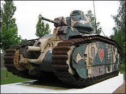 Comment s'appelle ce char d'assaut français de la Seconde Guerre mondiale ?