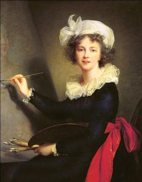 Cette artiste peintre (1755 - 1842), grande portraitiste, c'est Elisabeth ...