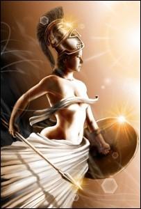 Déesse de la guerre et de la sagesse, de nombreuses divinités auraient été heureuses de l'épouser.Cependant, qui repoussa toutes les avances pour garder sa virginité ?