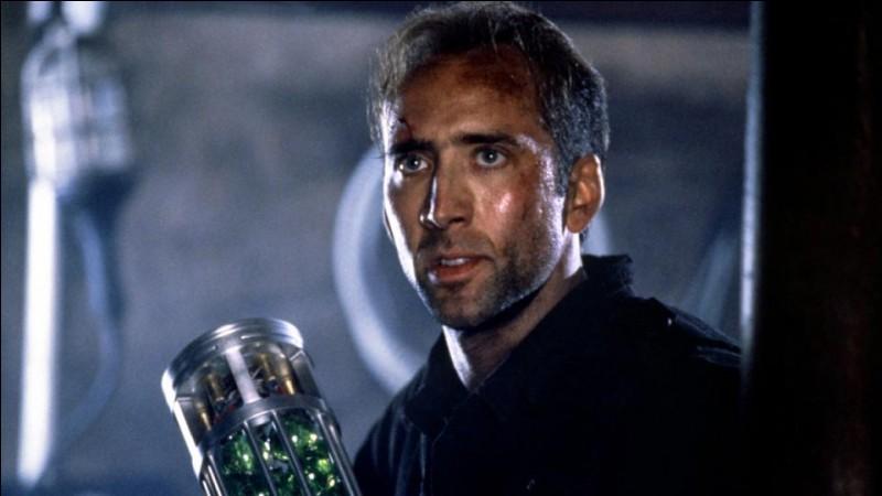 Année : 1996Genre : Action Acteurs : Nicolas Cage, Sean ConneryIndices : Gaz/Chimiste/Évadé/Général. Quel est ce film ?