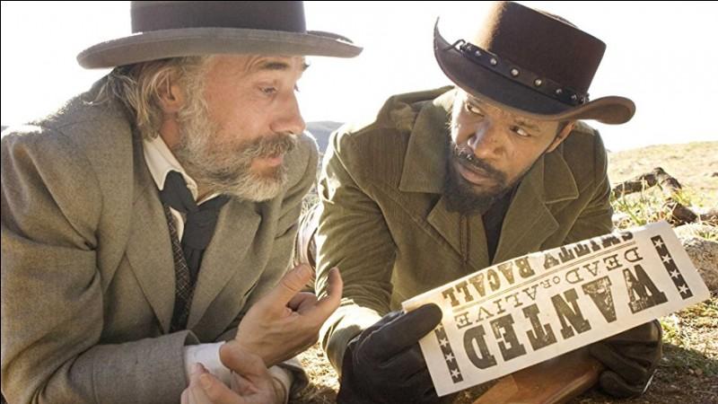 Année : 2012Genre : WesternActeurs : Jamie Foxx, Christoph WaltzIndices : Dentiste/Femme/Esclave/PlantationQuel est ce film ?