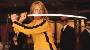 Année : 2003 Genre : ActionActeurs : Uma Thurman, Sonny ChibaIndices : Jaune/Mariée/Vipères/Tombe. Quel est ce film ?