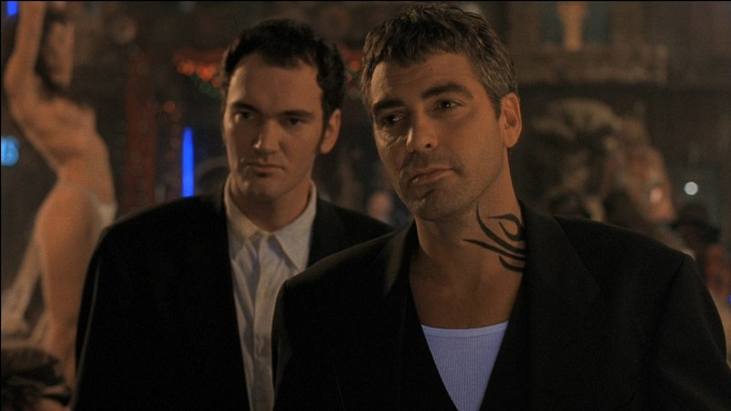 Année : 1996Genre : HorreurActeurs : George Clooney, Quentin TarantinoIndices : Titty Twister/Camping-car/Vampires/Frères.Quel est ce film ?