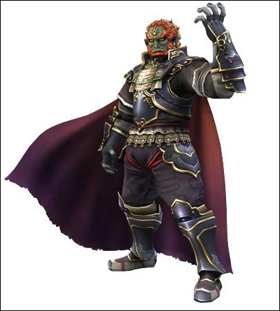 Quel est le nom complet de Ganondorf, réincarnation de l'avatar du Néant sous sa forme humanoïde ?