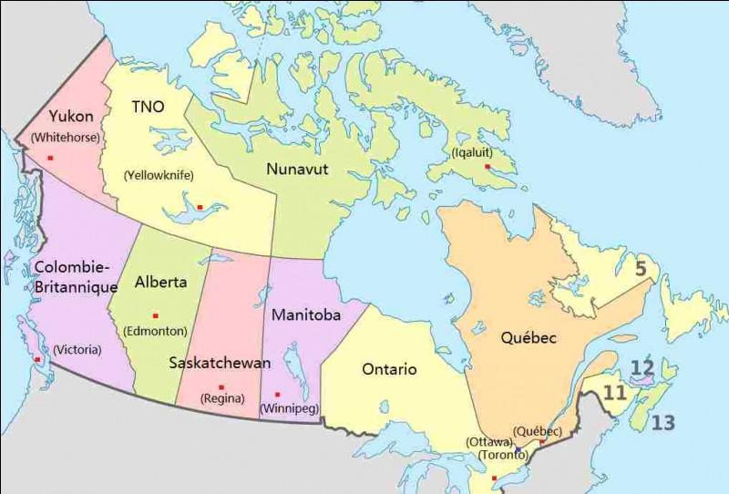 Quelle est la taille du Canada ?