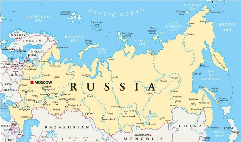 Quelle est la taille de la Russie ?