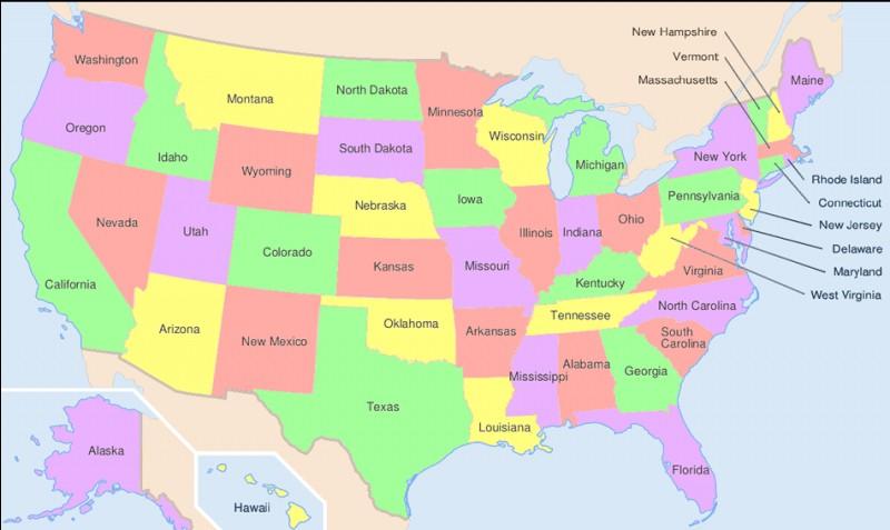 Quelle est la taille des États-Unis ?