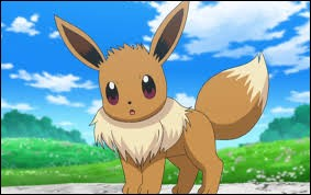 Ce Pokémon s'appelle Évoli.