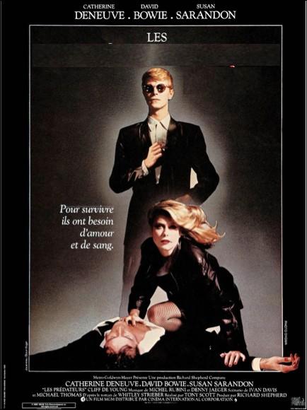 Quel est ce film avec David Bowie ?