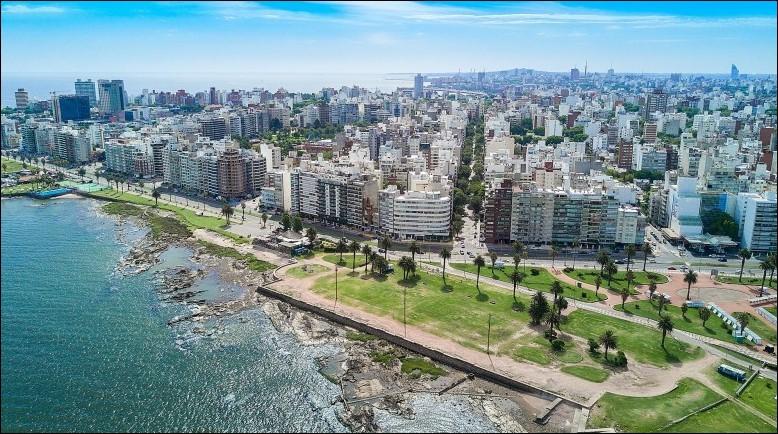 Cette ville d'Amérique du sud, capitale de l'Uruguay, c'est :