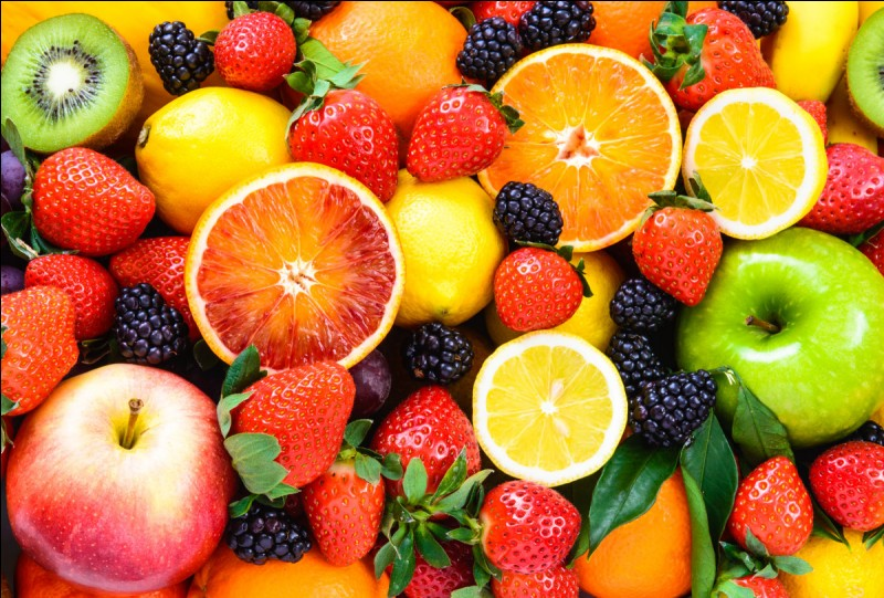 Lequel de ces 4 fruits préfères-tu ?