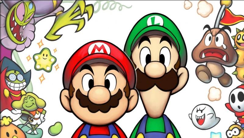 Vrai ou faux : Luigi fait un duo avec Mario dans une saga de jeux :