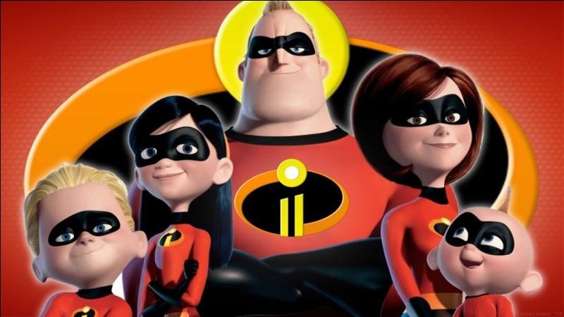 """Quel personnage des """"Indestructibles"""" existait déjà avant le long-métrage d'animation de Pixar?"""