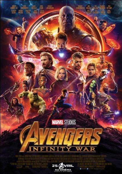Avengers - Infinity War marque la troisième collaboration entre deux acteurs, lesquels ?