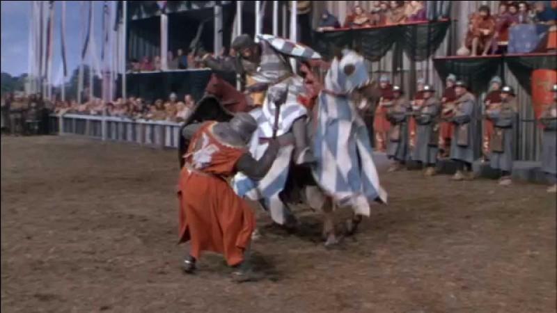 """""""Ivanhoé"""" est un film dans lequel a joué Elizabeth Taylor."""