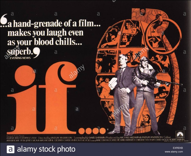 """""""If"""" est un film qui a remporté la palme d'or au festival de Cannes."""