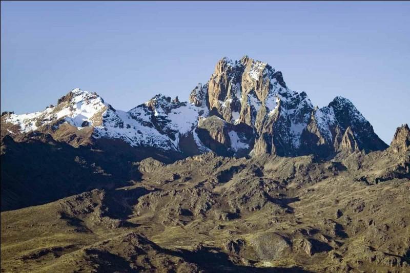 Dans quel pays se trouve le mont Kenya ?